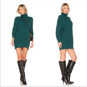 NWT Revolve House or Harlow Green Sweater Dress